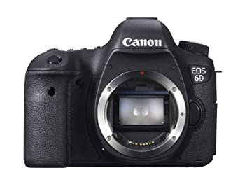 Canon Eos 6d 20.2 Mp Cmos Digital Slr Camera With 3.0-inch Lcd (Body Only) - Wi-fi Enabled 0