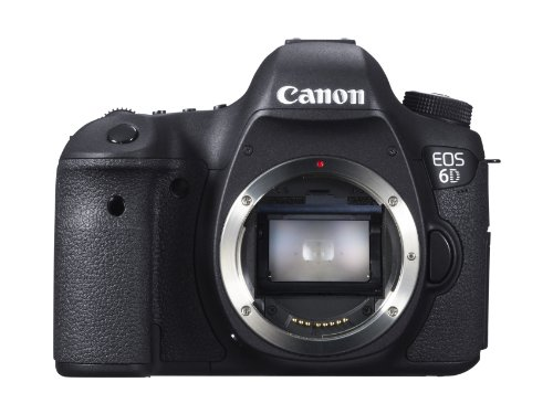 - Canon EOS 6D 20.2 MP CMOS Digital SLR Camera with 3.0-Inch LCD (Body Only) - Wi-Fi Enabled
