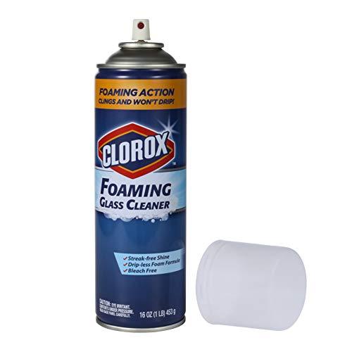 Clorox Glass Cleaner Aerosol, 16 Ounces, 32 ounces
