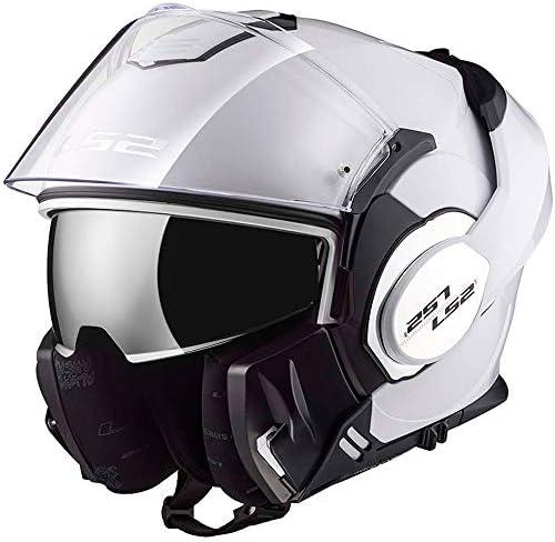 LS2/FF399/Valiant Convert DVS Casque de moto /à visi/ère rabattable