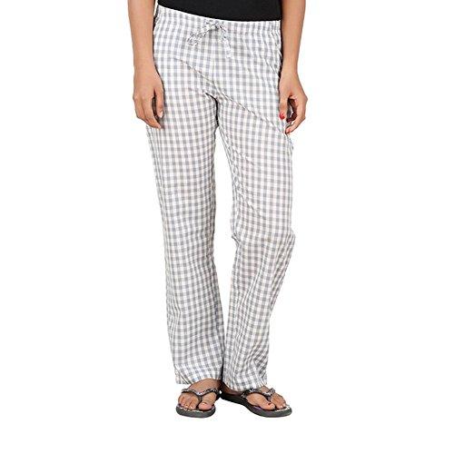 antshrike femmes en coton tissé pyjama Pantalon pyjama pour homme–Gris