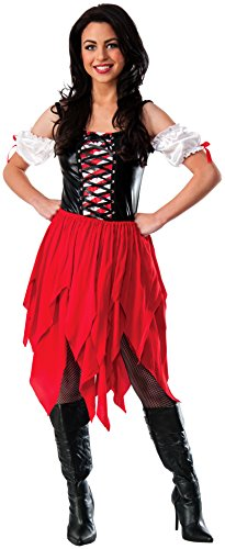 Rubie's Costume CO Women's Pirate Dress Costume, Multi, Standard - Caribbean Pirate Maiden Costumes