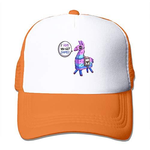 Battle Royale Fortnite Sassy Llama Unisex Trucker Hats Adjustable Baseball Cap Mesh Cap