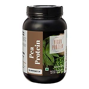 Sharrets Pea Protein Isolate Powder 80, 1Kg, Chocolate – Plant based Protein Powder, Vegan Soy Dairy Free Protein Powder…