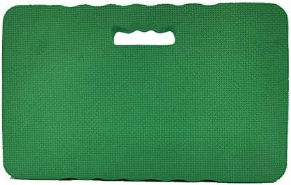 Hvoz Gartenkniebank, Gartenmatte mit Griff, wasserdichte Knieschoner, EVA, rutschfest, dicke Schaumstoffmatte grün