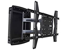 Monoprice Recessed Full-Motion Articulating TV Wall Mount Bracket - for TVs 42in to 63in Max Weight 200lbs Extension Range of 3.94in to 25.0in VESA Patterns Up to 800x500
