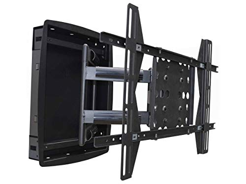 Monoprice Recessed Full-Motion Articulating TV Wall Mount Bracket – for TVs 42in to 63in Max Weight 200lbs Extension…