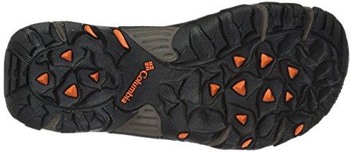 Columbia Mens Santiam 2 Strap Sport Sandal Mud, Heatwave