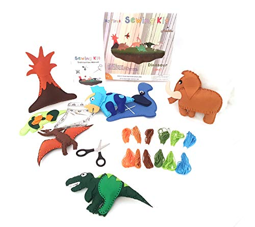 Create Your Own Stuffed Animal - Frecklez Dinosaur Sewing Kit | Beginners