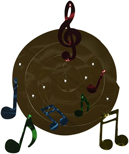 [Musical Note Whirls   (3/Pkg)] (Music Party Decorations)