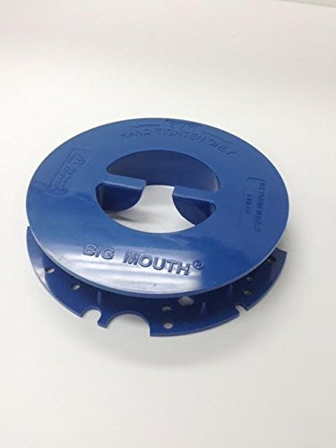 Scrubber Pad Holder (Advance 56393567 Pad Retainer, Top and Bottom Half. Big Mouth For Advance, Viper Floor Scrubbers)