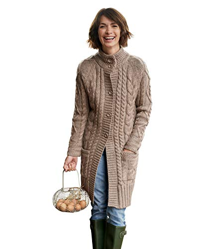 Cardigan Femme Pepper Overs Laine Pure Manteau Wool S EqpxUwT4wt