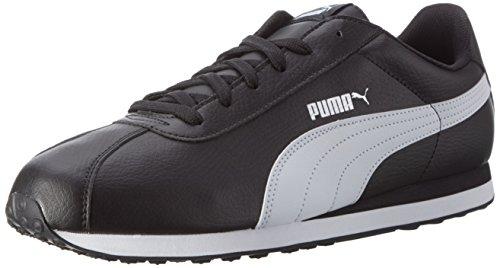 Puma Turin Basic Sneaker Heren Sneakers Zwart Wit 360116 01 Zwart