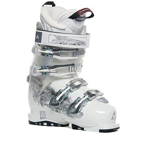 FISCHER SPORTS Damen Hybrid 9+ Vacuum Skistiefel, Weiß, 38