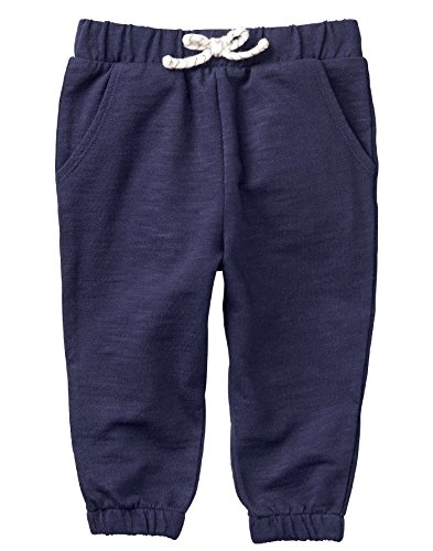 Gymboree Girls' Toddler Pull-On Joggers, Gym Navy, - Girls Gymboree Fleece Pants