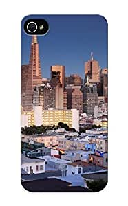 Ellent Design Usa Skyscrapers Houses San Francisco Cities Phone Case For Iphone 5/5s Premium Tpu Case For Thanksgiving Day's Gift