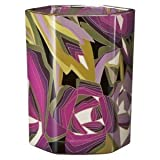 Missoni for Target Scented Soy Candle Sweet Cedar And Moss Vanilla, Cedarwood and Moss Fragrance Passione Pattern