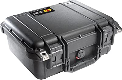 Pelican 1400 Case with Foam for Camera by Pelican Products Inc