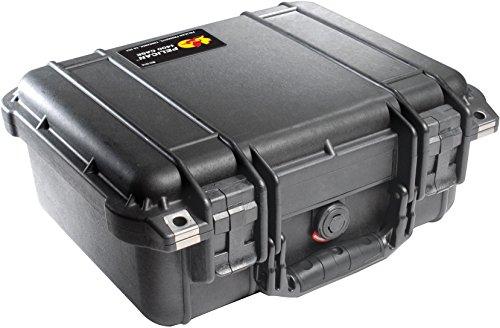 Pelican 1400 Case with Foam (Camera, Gun, Equipment, Multi-Purpose) - Black
