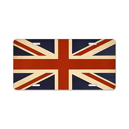 Union Jack License Plate - 8
