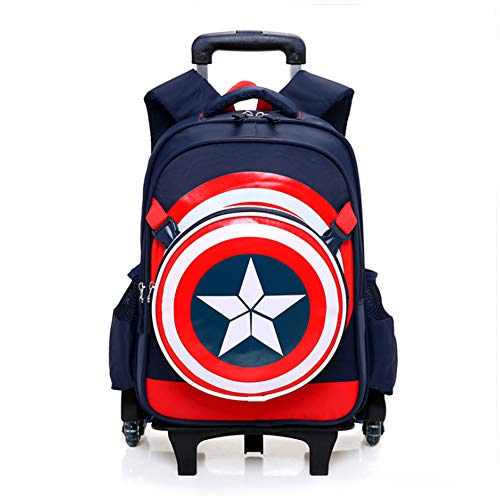 Spiderman Six Wheels Trolley