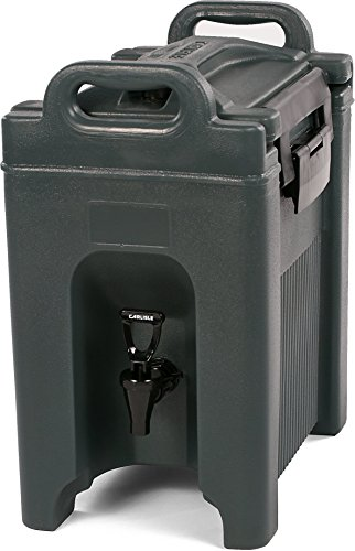Carlisle XT250059 Cateraide Insulated Beverage Server/Dispenser, 2.5 Gallon, Slate Blue