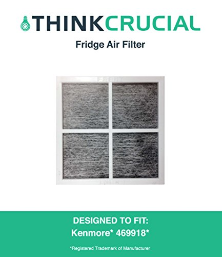 Premium Kenmore Elite 9918 Air Purifying Fridge Filter, Part # 469918 & 04609918000, by Think Crucial