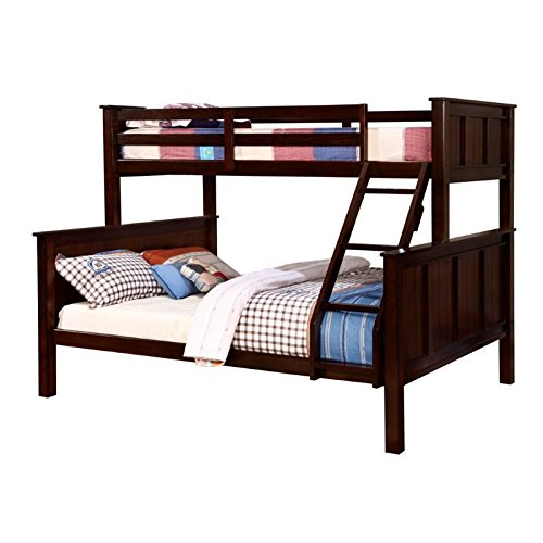 HOMES: Inside + Out ioHOMES Fidel Contemporary Bunk Bed, Twin/Queen, Dark Walnut Review