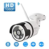 Security Camera, Arespark Outdoor Wireless Security Camera, FHD 1080P Waterproof WiFi IP Camera