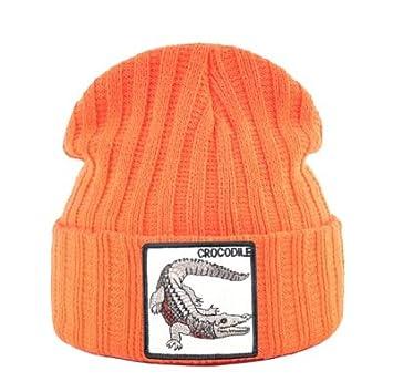 AAMOUSE Sombrero de Punto Gorras Tejidas a la Moda para Hombres y ...