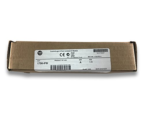 1756-IF6I Allen-Bradley ControlLogix 6 Point Isolated A/I Module - Series A (Power Backplane Box)