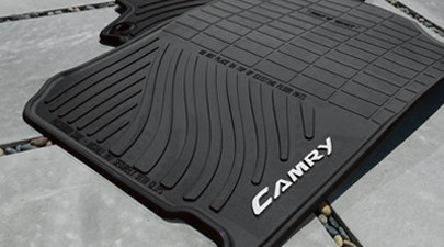 2014 Camry All-Weather Floor Mats (Color: Black)