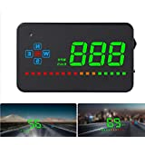 Car GPS Head Up Display, Windshild LED Projector, HUD Reflection Film, GPS Speedometer, Car Head-up Display, Plug and…