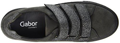 para Argento Dark Shoes Basic de Gabor Comfort grey Mujer 89 Derby Zapatos Cordones Gris fnAw0FO