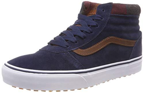 Vans Ward Hi MTE, Sneaker a Collo Alto Uomo Blu ((Mte) Dress Blues/Leather Brown U2x)