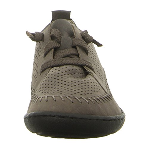 Rieker 58886-46 - Mocasines para mujer gris gris 36 gris