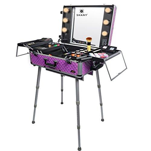 io Togo Makeup Case with Light, Purple ()