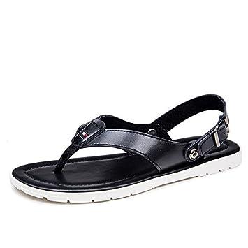 männer ist cool, hausschuhe, dicke boden - flip - flops, männer sommerluft strandschuhe sandalen,41,weiße
