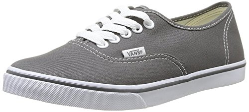 - Vans Classic Authentic Lo Pro Sneakers Pewter/True White 9