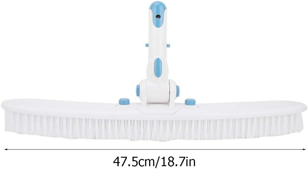 Famus Cepillo para Piscina anticorrosi/ón Pr/áctico Duradero para ba/ños Herramientas para Limpieza y Mantenimiento de Piscinas de Aguas Termales