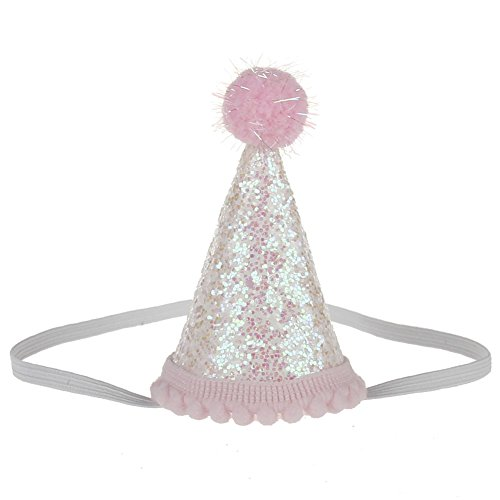 BAOBAO Baby Girl Boy Birthday Party Sequin Crown Hat Headband Hairband Photo Prop