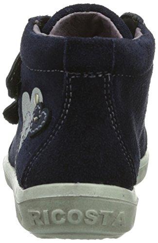 Ricosta Lessi Mädchen Hohe Sneakers Blau (nautic 163)