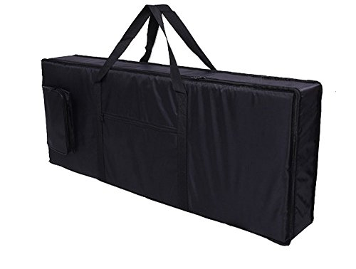 Tosnail 61-note Keyboard Gig Bag Piano Case Padded with 6mm Cotton - 39'' x 16