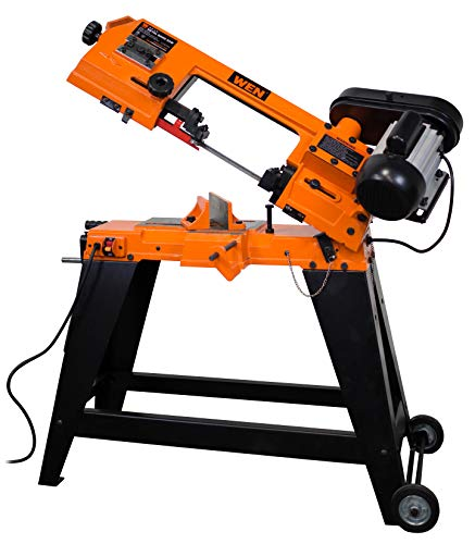 WEN 3970T 4.6 Amp 4 In. x 6 In. Metal-Cutting Band Saw with Stand