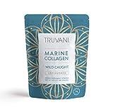 TRUVANI - Wild Caught Hydrolyzed Marine Collagen Protein Powder - Collagen Protein Supplement with Type 1,2 & 3 | Anti-Aging, Non-GMO, Mercury Free, Gluten Free Fish Collagen | 6.35 OZ |
