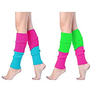 Ribbed Leg Warmers for Party Sports