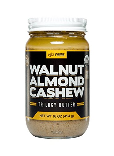 Onnit Walnut Almond Cashew Trilogy Butter - 100% Raw and Organic (16 oz)