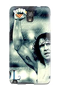 Tpu Fashionable Design Carles Puyol Rugged Case Cover For Galaxy Note 3 New