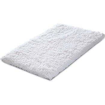 Amazon Com Genteele Memory Foam Bath Mat Shaggy Bathroom