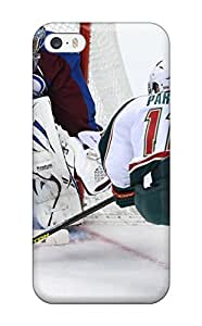 New RHMPDVa469tYAPD Colorado Avalanche (48) Tpu Cover Case For Iphone 5/5s